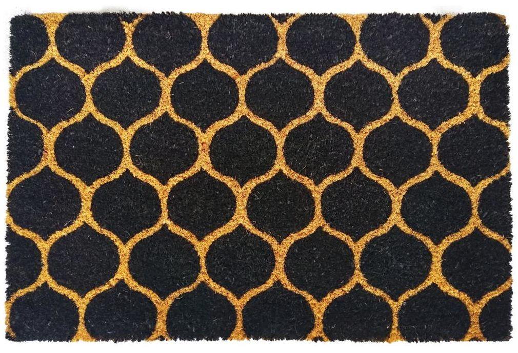 Wycieraczka wewnętrzna kokosowa Mozaika 60 x 40 cm