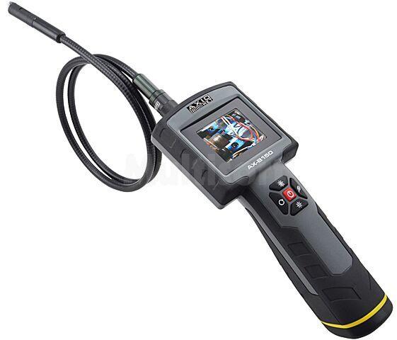 """Kamera inspekcyjna AXIOMET Wyświetlacz: LCD 2,4"""" (320x240) IP67 360g"""