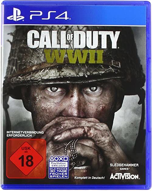 Call of Duty: WWII - Standard Edition - [PlayStation 4]  wersja niemiecka