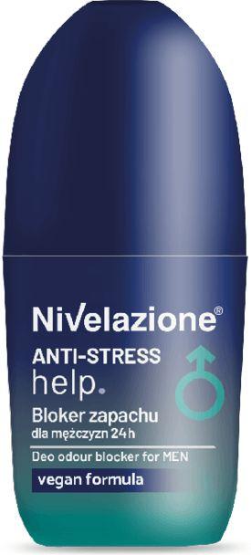 Nivelazione Anti-Stress help Bloker zapachu dla mężczyzn 24h 50ml