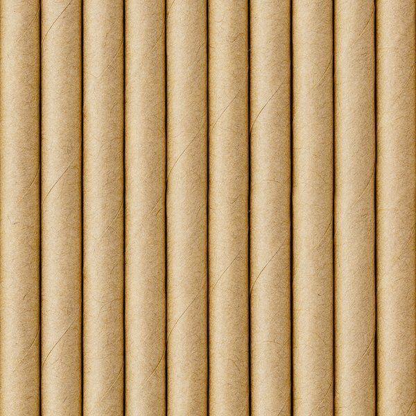 Słomki papierowe kraft 10 sztuk SPP9-031