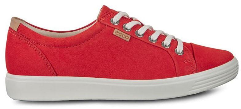 Buty sportowe damskie ECCO Soft 7 czerwone43000302604