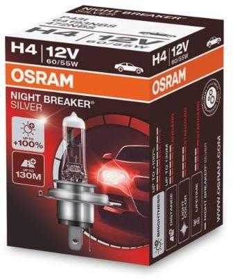 żarówka halogenowa H4 NIGHT BREAKER SILVER +100% - OSRAM