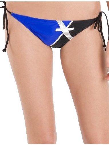 Fox Solitaire Side Tie B black dwuczęściowe stroje kąpielowe damskie luksusowe - L
