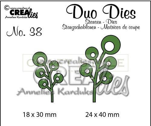 Wykrojnik CreaLies - Duo Dies no. 38 Leaves 6