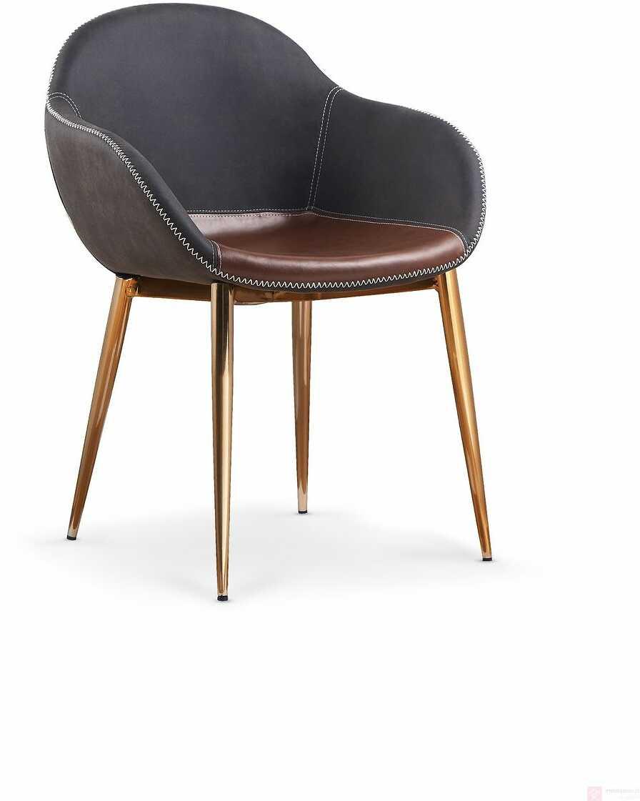 Krzesło K-304 Halmar Brąz ciemny