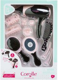 Corolle 310020 zestaw akcesoriów fryzjerskich dla lalek, wielokolorowy
