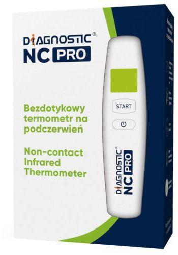 Diagnostic NC PRO bezdotykowy termometr na podczerwień 1 sztuka