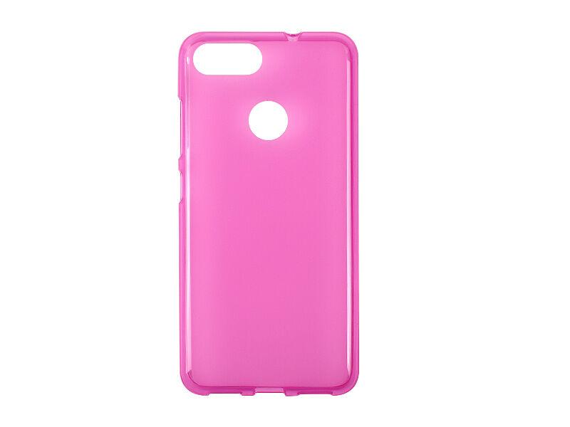 Asus Zenfone Max Plus (M1) - etui na telefon FLEXmat Case - różowy