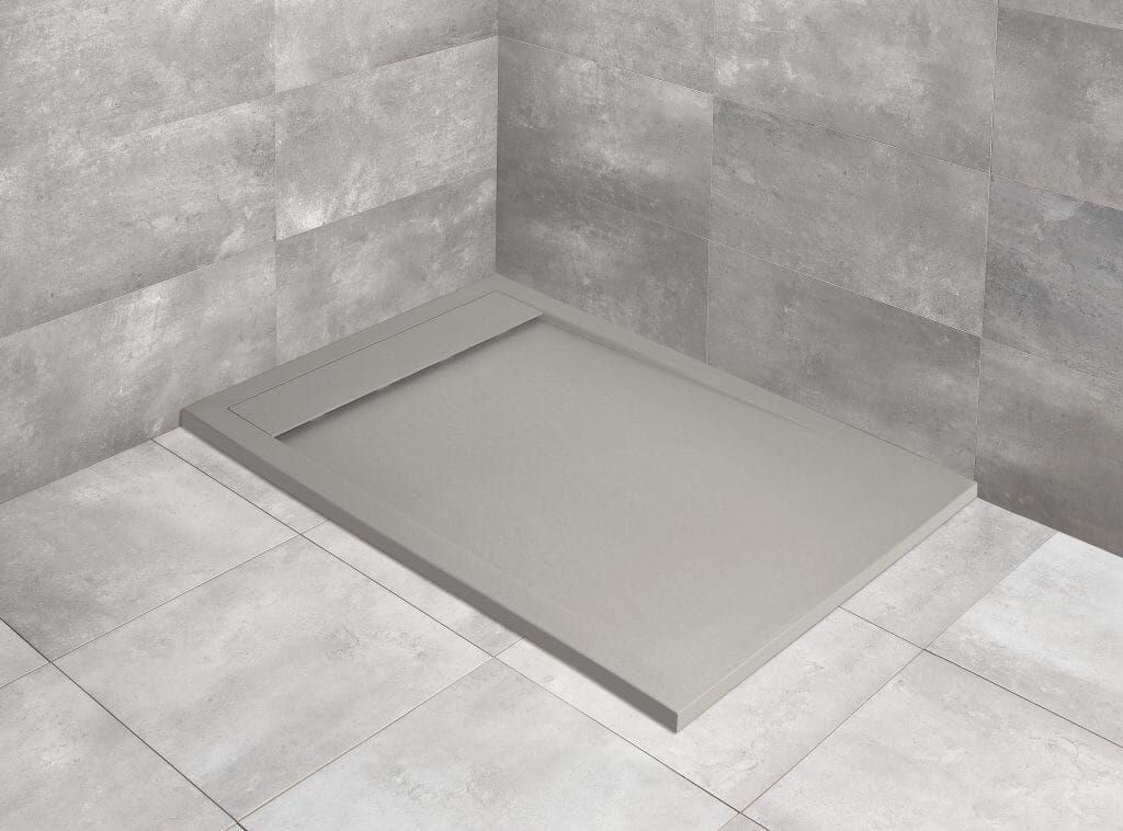 Brodzik prostokątny 100x70 Teos F cemento Radaway (HTF10070-74)