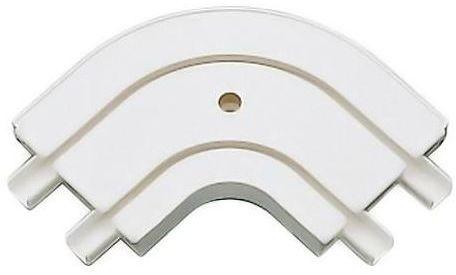 Łuk zewnętrzny do szyny sufitowej 2-torowej 18.5 cm GARDINIA