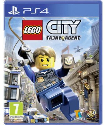 Gra PS4 LEGO City: Tajny agent