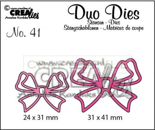 Wykrojnik CreaLies - Duo Dies no. 41 Bows