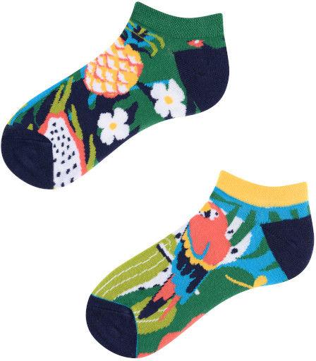 Stopki, Papaya Kids Low, Todo Socks, Papuga, Ananas, Liczi, Kolorowe Dziecięce