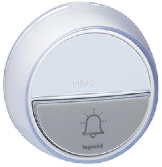 Dodatkowy przycisk do zestawu dzwonkowego COMFORT biały Legrand 094278