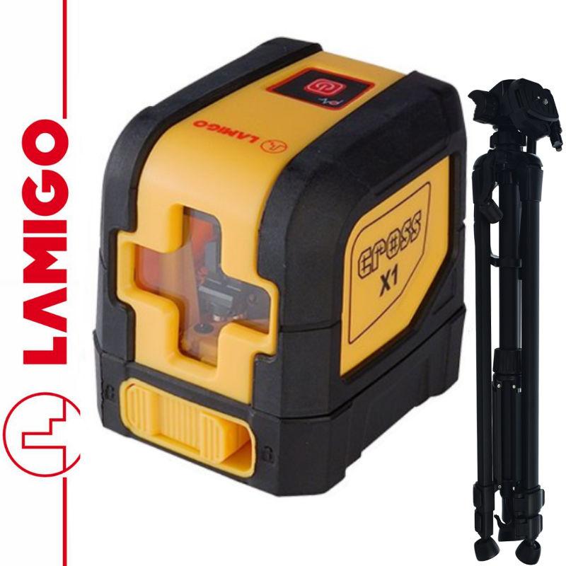 Laser liniowy CROSS X1 LAMIGO + Statyw 1,4m