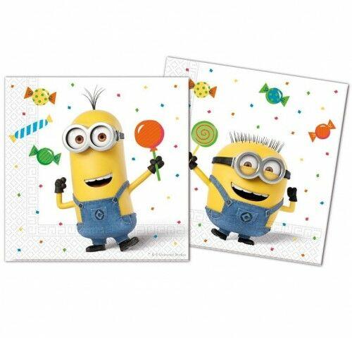 Serwetki papierowe Minionki - Minions Party (20 szt)