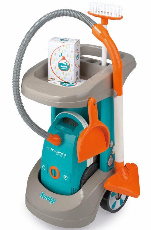 Smoby Wózek do sprzątania i odkurzacz 330306
