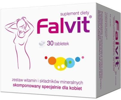 Falvit zestaw witamin i minerałów dla kobiet 30 tabletek