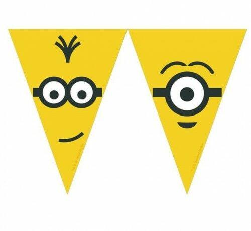 Baner z flag Minionki - Minions