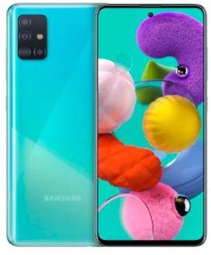 Samsung Samsung Galaxy A51 128 GB, blau