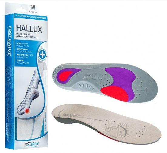 Profesjonalne wkładki ortopedyczne do leczenia i profilaktyki palucha koślawego FootWave (HALLUX)