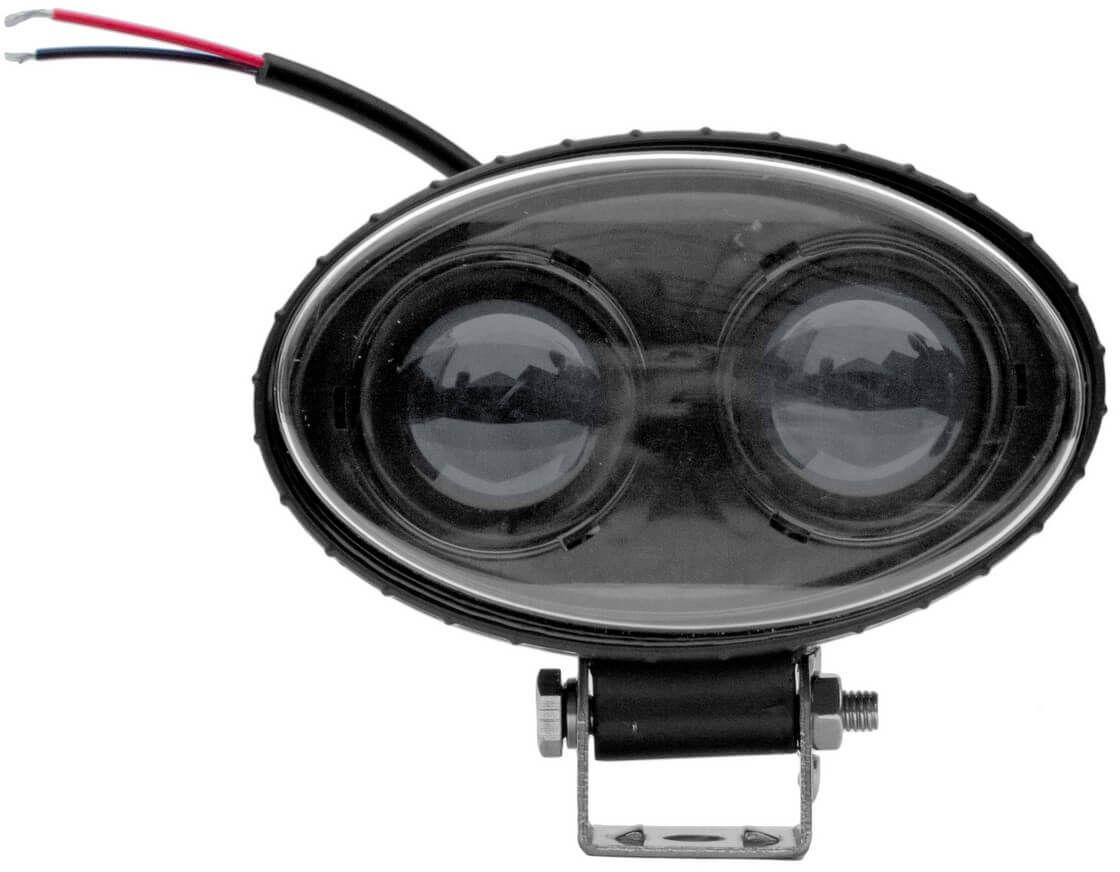 Lampa strumieniowa opryskiwacza LED niebieska 10W 13111B