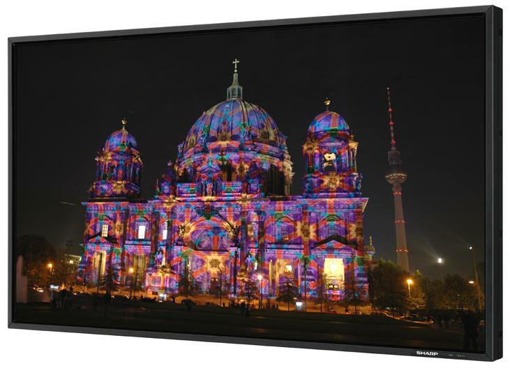 Wielkoformatowy monitor LCD 47 cali (119 cm) Sharp PN-E471+ UCHWYTorazKABEL HDMI GRATIS !!! MOŻLIWOŚĆ NEGOCJACJI  Odbiór Salon WA-WA lub Kurier 24H. Zadzwoń i Zamów: 888-111-321 !!!
