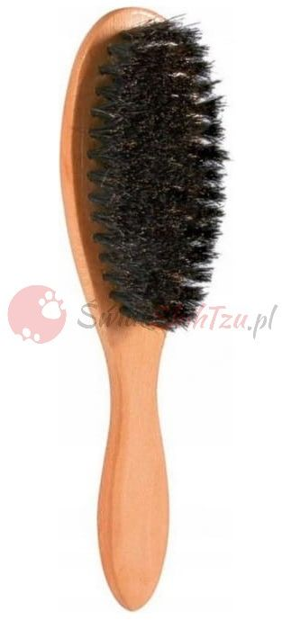 Trixie Szczotka Drewniana z Naturalnym Włosiem 5x21cm