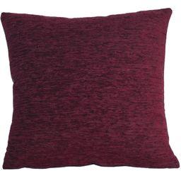 Blindecor Chenille poduszka z wypełnieniem, tkanina, 8 granat, 45 x 45 cm