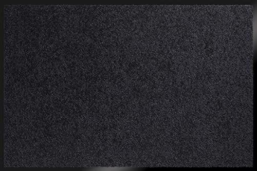 ID Matt 8012020 Mirande dywan wycieraczka włókno nylon/PCW gumowany czarny 120 x 80 x 0,9 cm