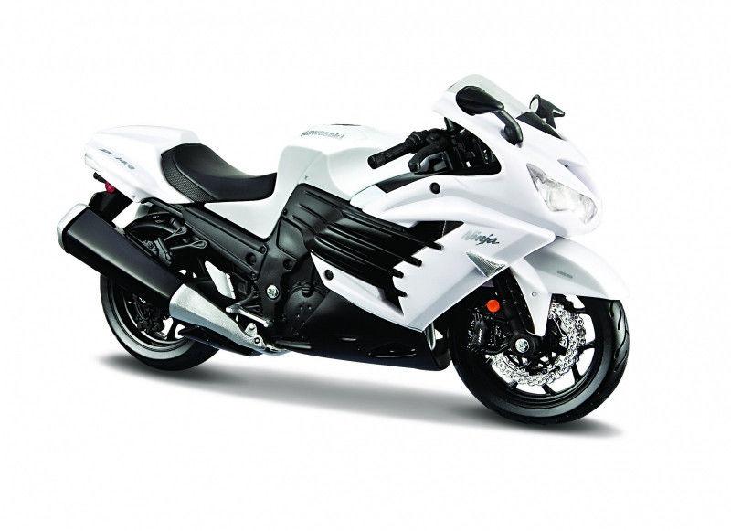 Motocykl Kawasaki Ninja ZX 14R 1/12