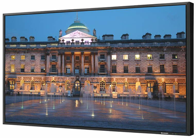 Wielkoformatowy monitor LCD 52 cali (132 cm) Sharp PN-E521+ UCHWYTorazKABEL HDMI GRATIS !!! MOŻLIWOŚĆ NEGOCJACJI  Odbiór Salon WA-WA lub Kurier 24H. Zadzwoń i Zamów: 888-111-321 !!!