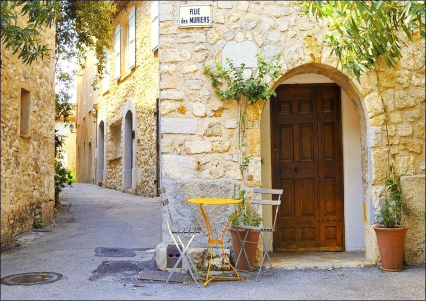 Mougins village, prowansja,francja - plakat wymiar do wyboru: 30x20 cm