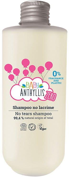 Baby Anthyllis ZERO Delikatny Szampon Dla Dzieci Bezzapachowy Naturalne Prebiotyki Szklane Opakowanie ZERO WASTE 200ml