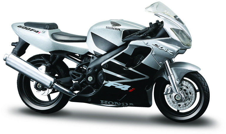 Motocykl Honda CBR600F4I z podstawką 1/18