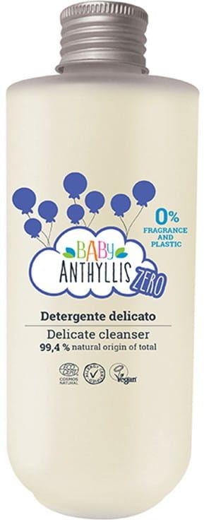 Baby Anthyllis ZERO Mydło W Płynie Dla Dzieci Bezzapachowe Naturalne Prebiotyki Szklane Opakowanie ZERO WASTE 200ml