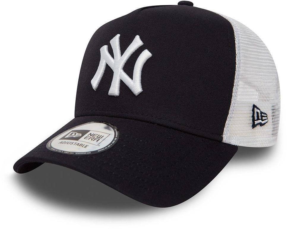 Czapka z daszkiem New Era MLB New York Yankees Clean A Frame Trucker NY granatowa