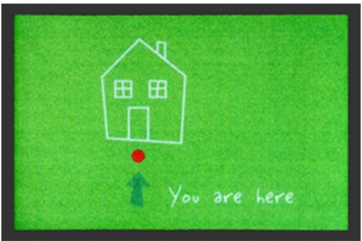 You Are Here - zielony