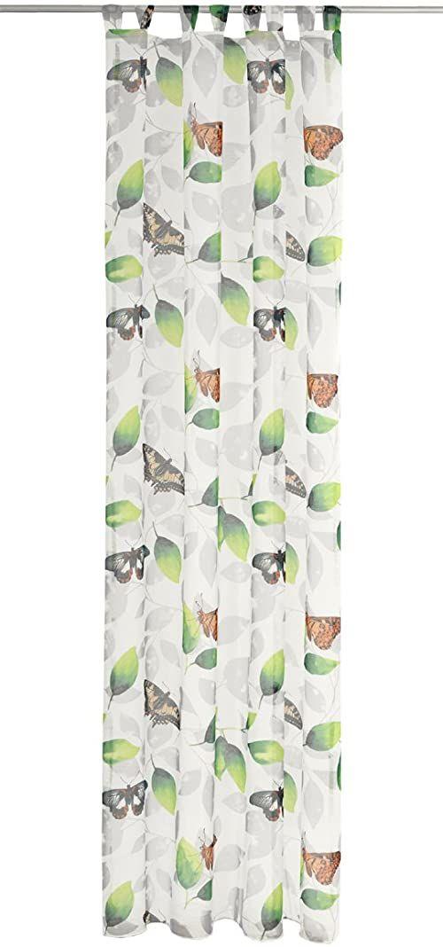 Deko Trends Zasłona ze szlufkami, tkanina, kolorowa