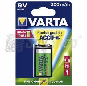 Akumulator Varta Ready2Use 9V/6F22 200mAh