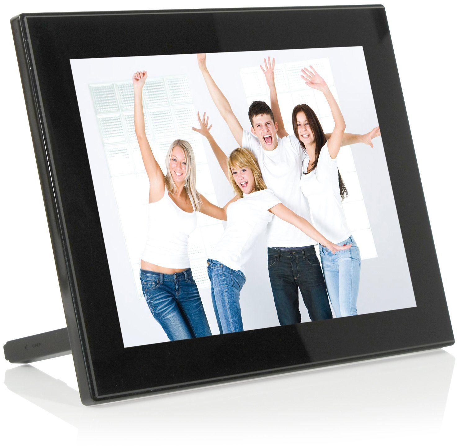 JOBO PLANO PRO cyfrowa ramka na zdjęcia (25,4 cm (10 cali), 4:3, czarna