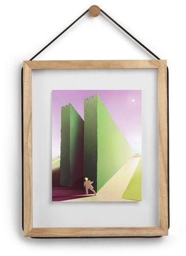 Umbra - ramka na zdjęcia corda 11 x 14 cm - jasne drewno