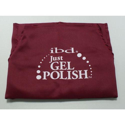 IBD Fartuszek kosmetyczny Just Gel Polish bordowy