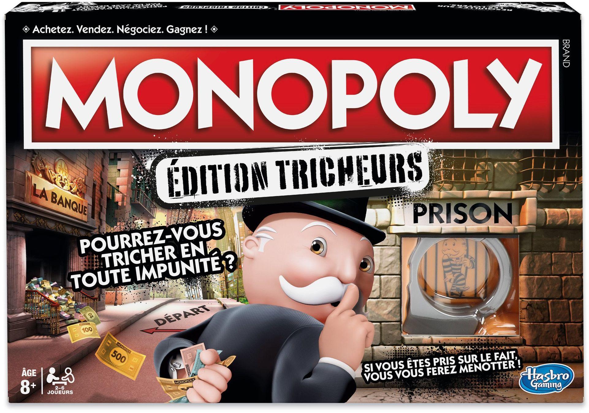 Mme Monopoly - rodzinna gra planszowa - wersja francuska