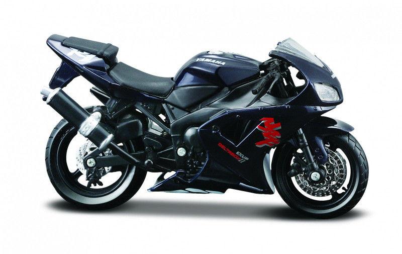 Model metalowy Motocykl Yamaha YZF-R1 z podstawka 1:18