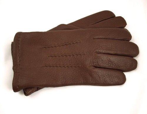 Ekskluzywne, ciepłe i oryginalne rękawiczki ze skóry z łosia, ocieplane kaszmirem
