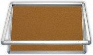 Gablota zewnętrzna 2x3 model 1 4xA4 naścienna wodoszczelna korkowa 4xA4/53x70