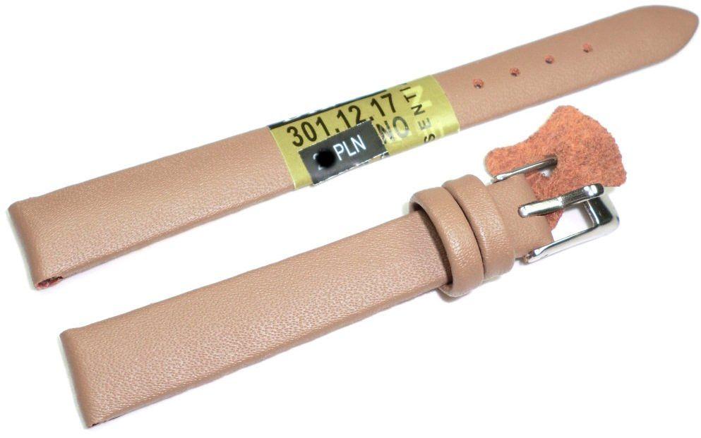 Skórzany pasek do zegarka 12 mm Diloy 301.12.17