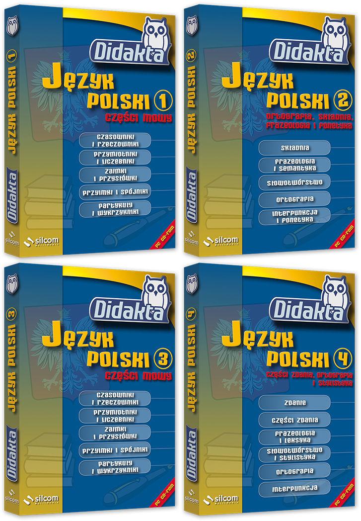 Pakiet Didakta Język polski (szkoła podstawowa)
